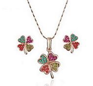 Clover Jewelry Set
