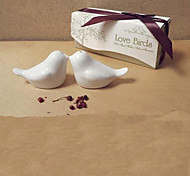 Love Bird Design Ceramic Salt & Pepper(1 PCS)