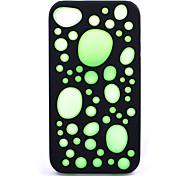 Solid Color Bubble-Design-Tasche für iPhone 4/4S (Farbe sortiert)