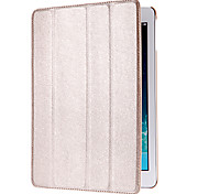 Auto Sleep and Wake up Designed Silk Print PU Leather Full Body Case with Stand for iPad Air (Assorted Colors)