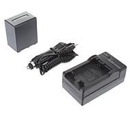 ismartdigi-3900mah Sony NP-FV100, 7.2V batería de la cámara + cargador de coche para SONY CX700E/PJ50E/30E/10E/CX180E/VG10E/FV70/FV50