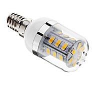 Bombillas LED de Mazorca Regulable T E14 / G9 / E26/E27 5W 24 SMD 5730 80-350 LM Blanco Cálido / Blanco Fresco AC 100-240 V