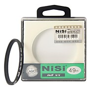 NISI 49mm PRO UV Ultra Violet professional lens Filter Protector for Nikon Canon Sony Pentax Olympus Cameras