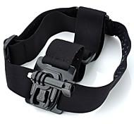 TOZ TZ-GP122B New Camera Fixed Headband with Mount Base + Long Screw for GoPro Hero2 / Hero3 / 3+