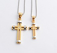 Golden / Black / Silver / Coppery Pendant Necklaces Daily / Casual Jewelry