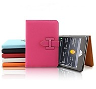 Litchi Pattern Leather Protective Case with Stand and Card Slot for iPad Air (Assorted Colors)