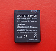 1600mAh Battery Pack for GoPro Hero 3 AHDBT-201/301