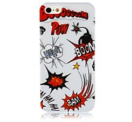 Bombshel ​​Muster Silikon Soft Case für iPhone4/4S