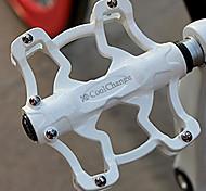 Велоспорт Педали Велоспорт / Горный велосипед / Шоссейный велосипед Белый Алюминиевый сплав