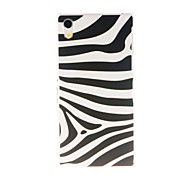 Kinston Zebra Pattern Plastic Hard Case for Sony Xperia Z2