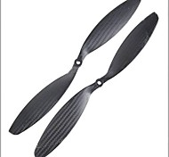 1238 Carbon Fiber CW/CCW Propeller for Quadcoptor (2 Pairs)