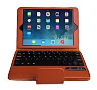 colorida caja del teclado del bluetooth desmontable para Mini iPad 3, Mini iPad 2, iPad mini