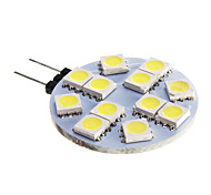 6W G4 Spot LED 12 SMD 5050 420 lm Blanc Froid DC 12 V
