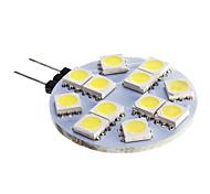 6W G4 Focos LED 12 SMD 5050 420 lm Blanco Fresco DC 12 V