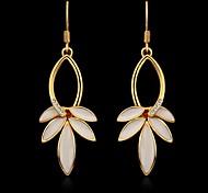 Fashion Damen-Gold überzogene Ohrringe