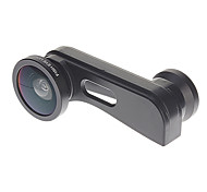 3-in-one a cambio rapido Wide-Angle, Kit Macro and Fish Eye Lens Camera per iPhone 5/5S