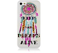 Dream Catcher Caso de silicona suave para iPhone4/4S