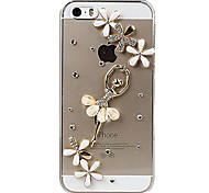 Dancing Girl Design Back Case for iPhone 5/5S