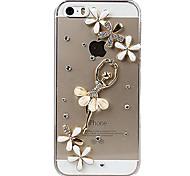 Menina de dança Design De volta para o iPhone 5/5S