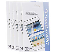 5 Pcs Anti-Glare Hyper-98% Transparency Matte Screen Protector for Samsung Galaxy S5 I9600