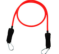 6# Latex Fitness Exercise Stretch Pull Rope - Red