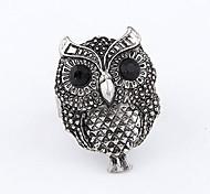 Korean Fashion Retro Owl Opening Adjustable Ring