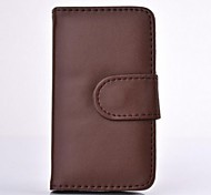 Vintage Leather Case Luxo para iPhone 4/4S (Multicolor)