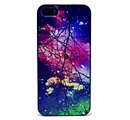 Space with Branches Pattern Hard Case for iPhone 5/5S