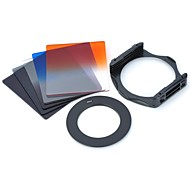 SZSY201301   8-in-1 Gradual Lens Filters + ND4 + ND8 + Mount + Ring Set for 58mm Lens Camera - Black