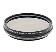 Nicna ND2~ND400 Premium Digital Fader ND Filter(58mm)