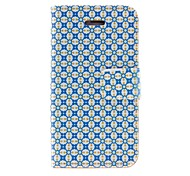 Kinston Alignment Beautiful Case Pattern PU Leather Full Body Case with Stand for iPhone 4/4S