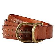 Women Skinny Belt / Waist Belt,Vintage / Party / Casual Leather All Seasons