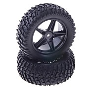 90mm Rubber Tyre for 1:10 RC On-Road Car (2 pcs)