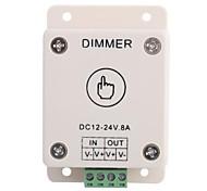 LED Controlador Dimmer Led Toque Bom para tiras de LED / Lâmpadas (DC 12-24V 8A)