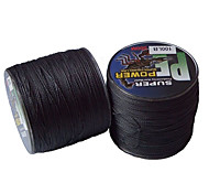 500M / 550 Yards PE Braided Line / Dyneema / Superline Fishing Line Black 22LB / 30LB / 40LB 0.2,0.23,0.26,0.28 mm ForSea Fishing /