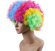 Black Afro Wig Fans Bulkness Cosplay Christmas Halloween Wig Colorful Wig 1pc/lot
