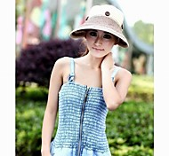 Unisex Denim/Straw/Satin Floppy Hat , Vintage/Cute/Casual All Seasons