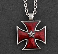 Retro Fashion The Star Of Power Pendant Necklace