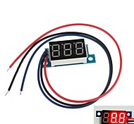 "Mini 0.36"" 3 Digital LED Display DC 0V-200V Red Volt Voltage Meter Voltmeter"