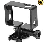Gopro Accessories Smooth Frame For Gopro Hero 3 Plastic / Stainless Steel Black
