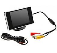 """Jtron 3.5 """"de Hign definición de coches de color TFT LCD monitor del Rearview DVD de"""