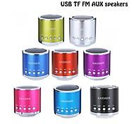 Hallo-Fi-Minilautsprecher TF Audio Verstärker MP3 / 4 Player FM Radio Portable USB Speaker-(sieben Farbe Optional)