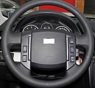 Xuji ™ copricerchio nera in vera pelle per il periodo 2007-2012 Land Rover Freelander 2 discovery 3