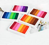 Criativas 6 cores Inkpad (cor aleatória)