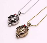 Vampire Diaries Elena Verbena Liebes-Weinlese-Anhänger-Halskette Strass Halskette Valentinstag Geschenk für Frauen