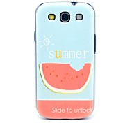 Summer Watermelon Pattern Hard Back Case Cover for Samsung Galaxy S3 I9300