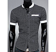 Camicia con colletto Fashion stand Uomo Casual