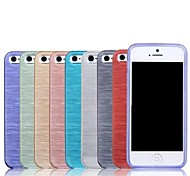High Quality Brushed TPU Soft Case for iPhone 6/6S (Assorted Colors)