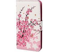 Коко FUN ® Флора Цветок Бумажник слота расширения всего тела PU Кожаные чехлы с подставкой для IPhone 4S Включенная Кино и Stylus