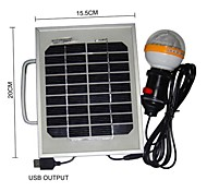 36-LED White Light 2W Solar Panel Solar Mobile Phone Charger Lighting Portable System